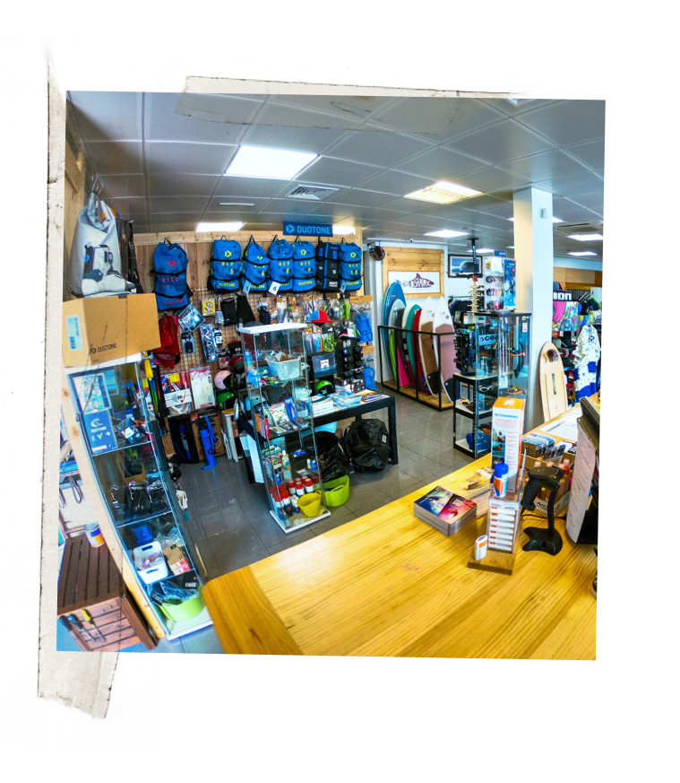 Kitesurf , Surf & SUP Shop & Materialverleih