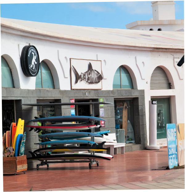 Shop & rental surfing