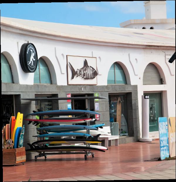 Tienda y alquiler de surf