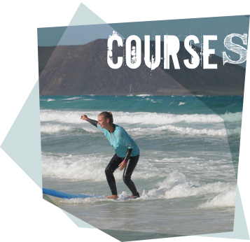 CURSO DE SURF EN GRUPOS REDUCIDOS