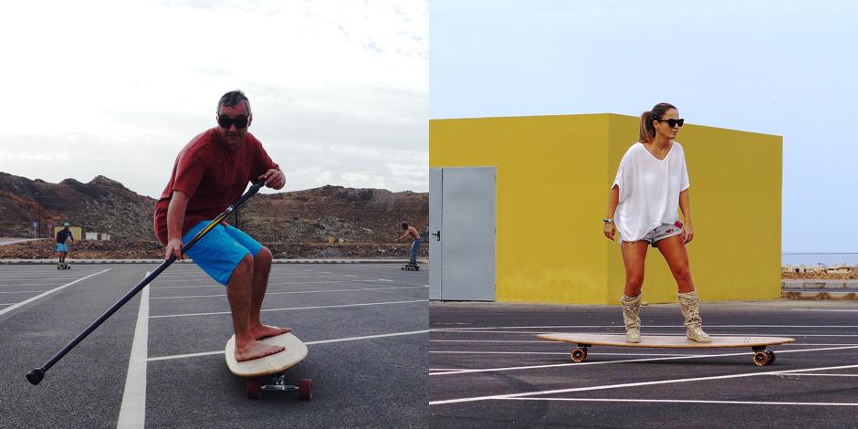 Sessione di street surf